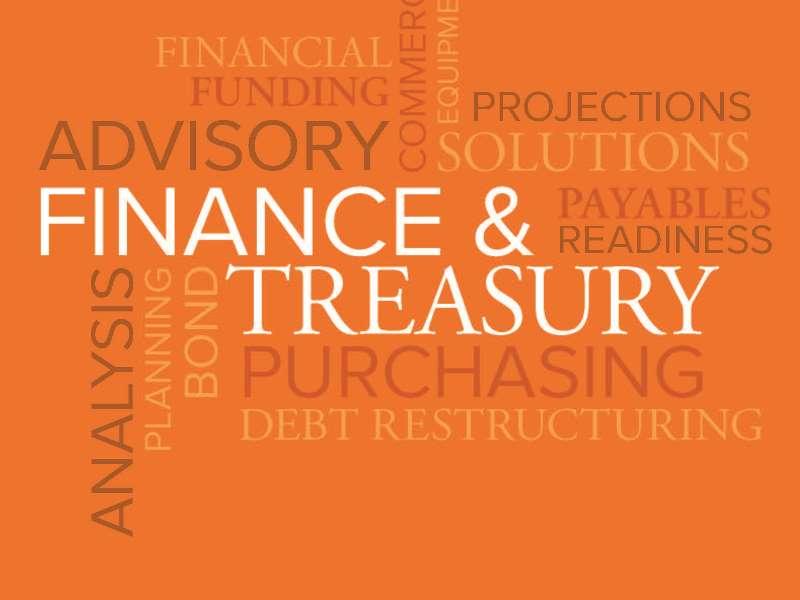 Finance and Treasury